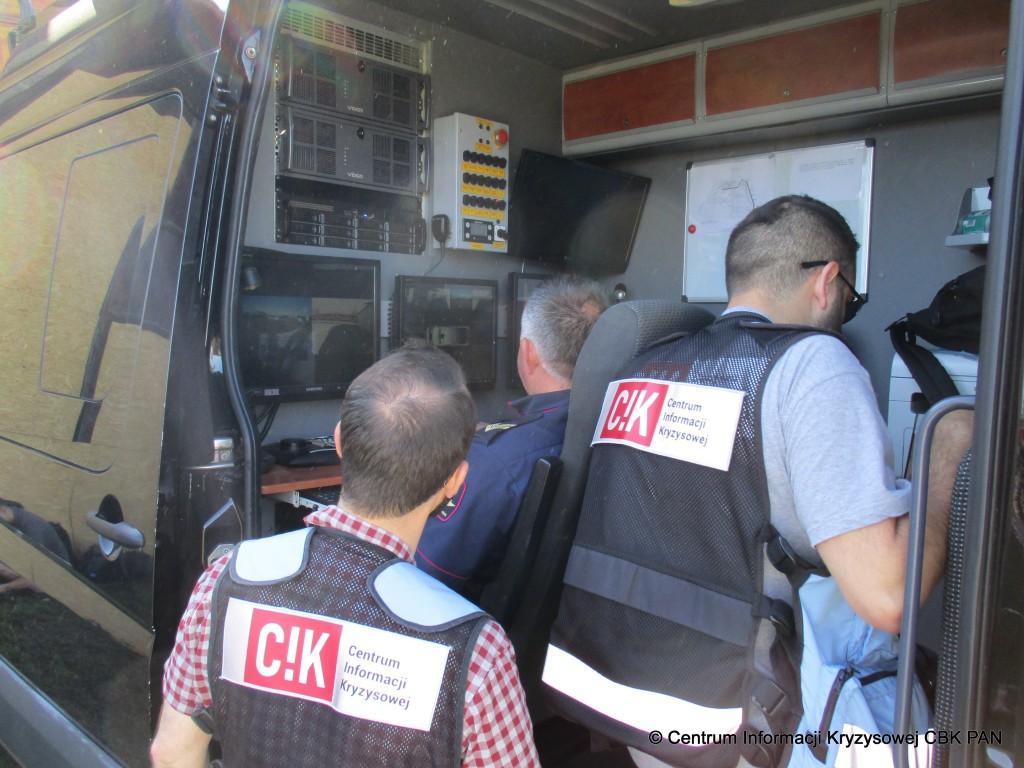 Ćwiczenia służb ratowniczych pk.
