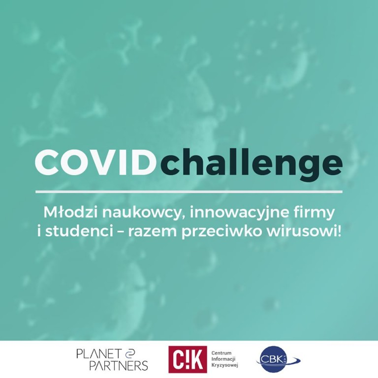 COVID Challenge – poszukiwane innowacje w odpowiedzi na epidemię