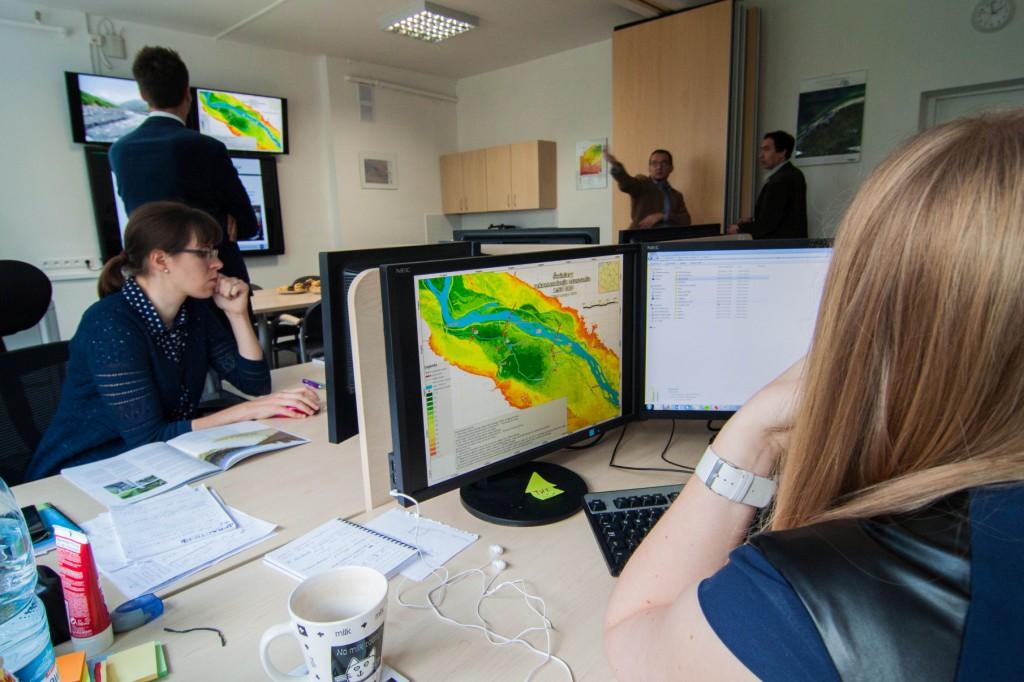 Otwarcie sali operacyjnej Centrum Informacji Kryzysowej