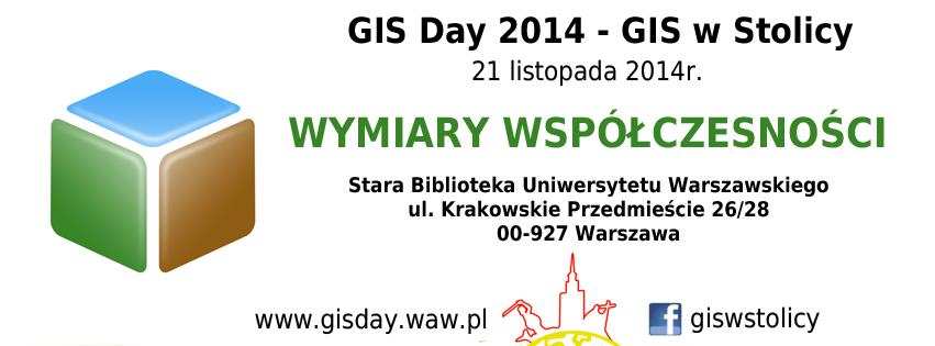 GIS Day 2014 w Warszawie