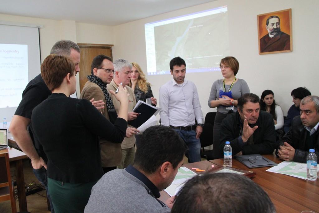 Ćwiczenia z zarządzania kryzysowego w Gruzji